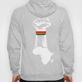 African Map Hoody