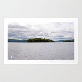 Lake Wallenpaupak Art Print
