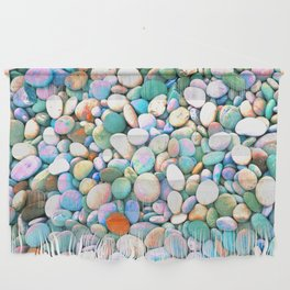 PEBBLES ON THE BEACH Wall Hanging