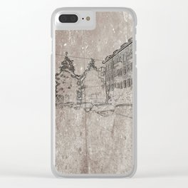 where am I? No.1 Clear iPhone Case