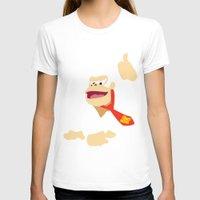 donkey kong T-shirts featuring Donkey Kong - Minimalist - Nintendo by Adrian Mentus
