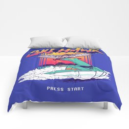 Ski Hawk Comforters