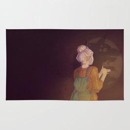 Shadows Lady Rug