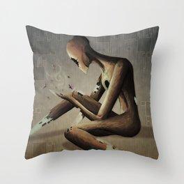 The Disintegration of God Throw Pillow