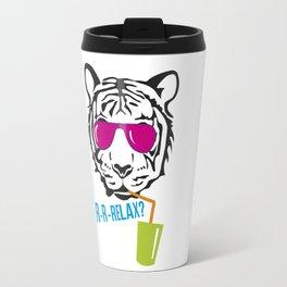 Face of tiger Travel Mug