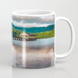 Hanalei Pier Kauai Hawaii Coffee Mug