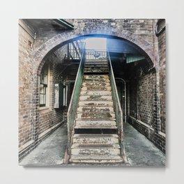 Urban Decay Steps Metal Print