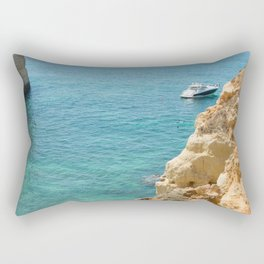 A small inlet suitable for swimming Rectangular Pillow