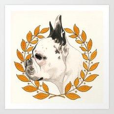 French Bulldog - @french_alice dog Art Print