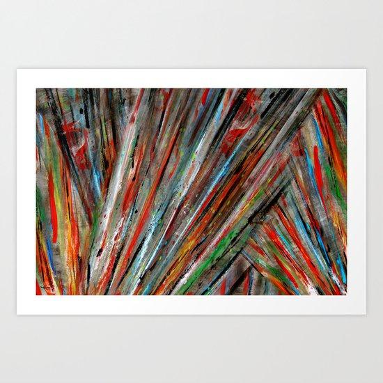 Acryl-Abstrakt 02 Art Print