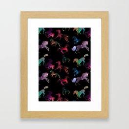 Galaxy Run Framed Art Print