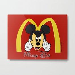 Micky D Metal Print