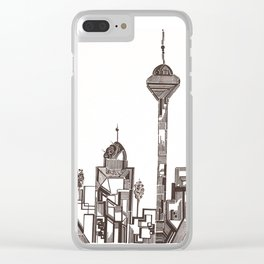 TEHRAN Clear iPhone Case