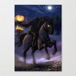 The Headless Horseman Canvas Print