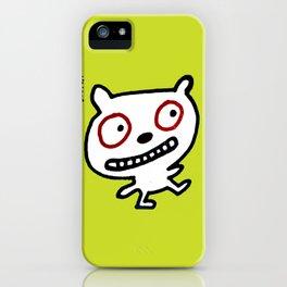 Happy Go Lucky Bear iPhone Case