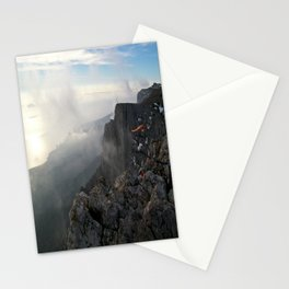 Freedom in the mountains Stationery Cards