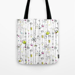 Quirky Icons Tote Bag