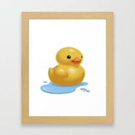 Quack Framed Art Print