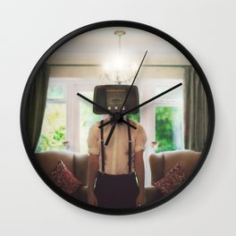 Ol' Radio Daze Wall Clock