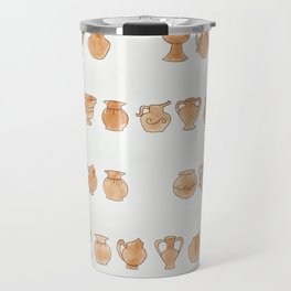 Greek Vases Travel Mug