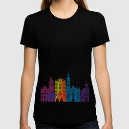 Innsbruck skyline pop T-shirt