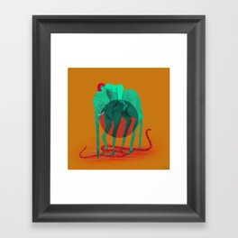 Slytherin Life Framed Art Print