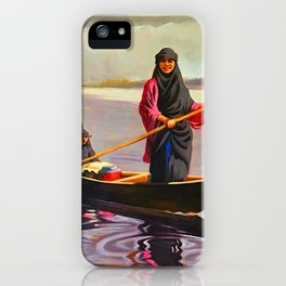 The iraqi Marshlands iPhone Case