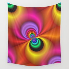abstract spirals -1- Wall Tapestry