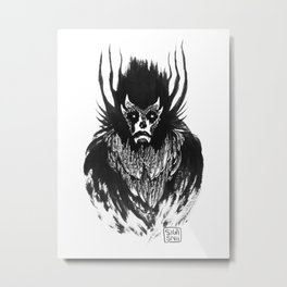 Little Demon Metal Print