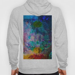 multicolored waves Hoody