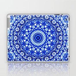 Blue Mandala Mehndi Style G403 Laptop & iPad Skin