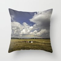 oklahoma Throw Pillows featuring Oklahoma by Tanner Albert