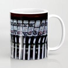 Vintage typewriter Mug