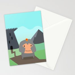 Shining Knights - The Warrior Stationery Cards