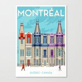Montreal - Quebec - Canada Canvas Print