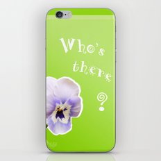 Who's there? iPhone & iPod Skin