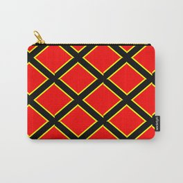 red cross-abstraction,abstract,geometric,geometrical,pattern,cross,order Carry-All Pouch