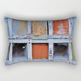 Farmington Garage Door Rectangular Pillow