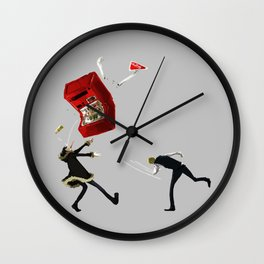Shizuo and Izaya 1 Wall Clock
