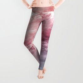 Colorful Abstract Sky Leggings