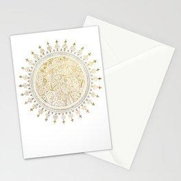 Mandala Justyoga Stationery Cards