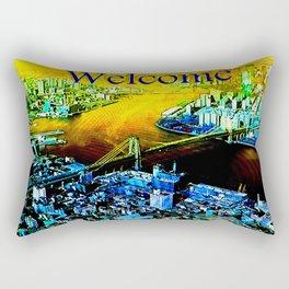 Incoming  city Rectangular Pillow