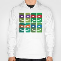tmnt Hoodies featuring TMNT by Szoki
