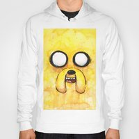 jake Hoodies featuring Jake Face by Olechka