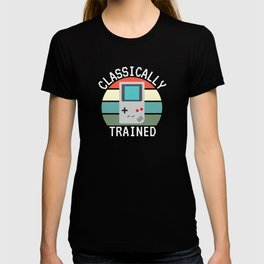 Classically Trained Gaming Console Gamer Gift T-shirt
