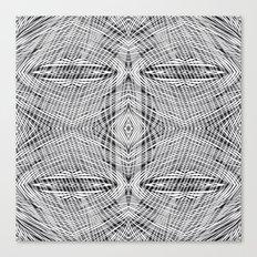 stripe power Canvas Print