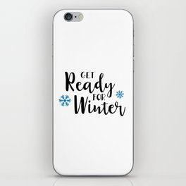 Get ready for winter iPhone Skin