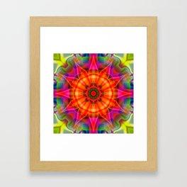 Floral Vision Framed Art Print