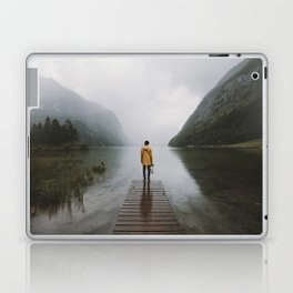 Mountain Lake Vibes - Landscape Photography Laptop & iPad Skin