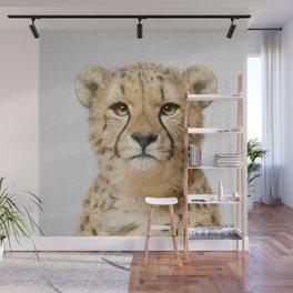 Cheetah - Colorful Wall Mural